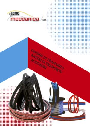Cinghie e nastri - Catalogo Tecnomeccanica