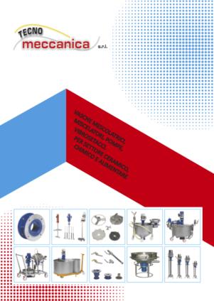 Miscelatori e vagli - Catalogo Tecnomeccanica