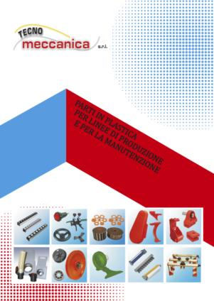 Protezioni in plastica - Catalogo Tecnomeccanica