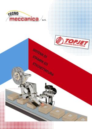 Stampanti ed etichettatrici - Catalogo Tecnomeccanica