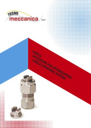 Ugelli per atomizzatori e smalteria - Catalogo Tecnomeccanica