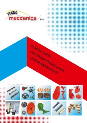 Plastric parts for production lines catalog